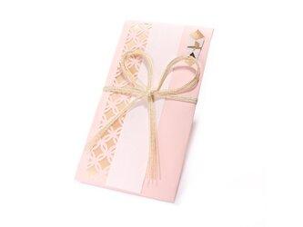 【ご祝儀袋】 七宝(花結び)・桜色の画像