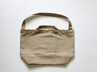 プレーントート「ちょうどいいかばん」ベージュの画像