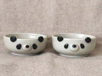 パンダ豆鉢の画像