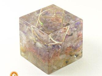 [受注製作]キューブオルゴナイト DOUBLE breakthrough cube100700005の画像