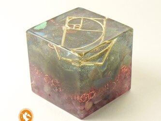 [受注製作]キューブオルゴナイト DOUBLE nirvana cube100400002の画像
