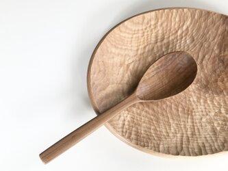受注制作 チェリーの木のレードル おたま 杓子 の画像