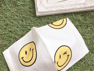 立体マスク  キッズ オトナ コットン スマイル ニコちゃんの画像