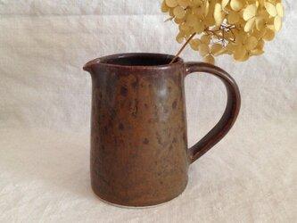 鉄釉ピッチャーBの画像
