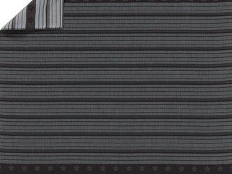 風呂敷  包み 木綿 ふろしき 織 男物 ダンディズム 縞梅鉢  京都 綿100% 90cm幅 化粧箱入の画像