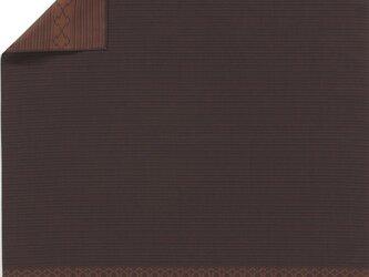 風呂敷  包み 木綿 ふろしき 織 男物 ダンディズム 松皮菱  京都 綿100% 90cm幅 化粧箱入の画像