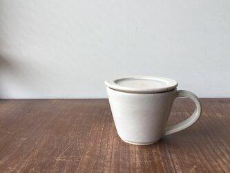 蓋付マグカップ 呉須線の画像
