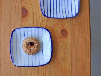 gosu 細かいストライプの豆皿 aの画像