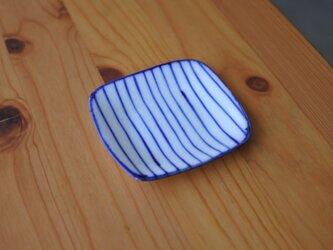 gosu 細かいストライプの豆皿 bの画像