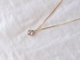 Stella Diamond Necklace Bezel Icicleの画像