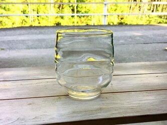 """""""Classic Bamboos""""竹の古径(こみち)  ボーダーー多用途グラスの画像"""