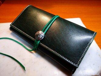 長財布(緑)の画像