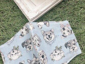 立体マスク 犬 柴犬 フレブル キッズ オトナの画像