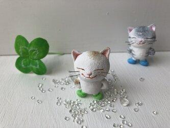 長靴をはいた猫さん 白茶トラの画像