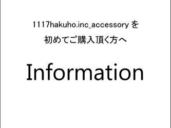 information ‐1117hakuho.inc_accessoryについて-の画像