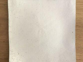 粉引四角皿の画像