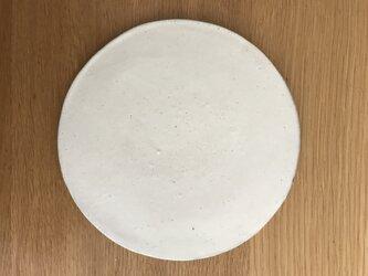 粉引き円皿の画像