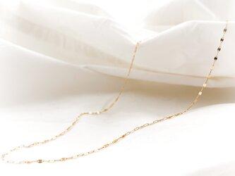 K10 Design Cut Chain Necklaceの画像