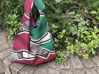 b385-アフリカ布ecoバッグの画像