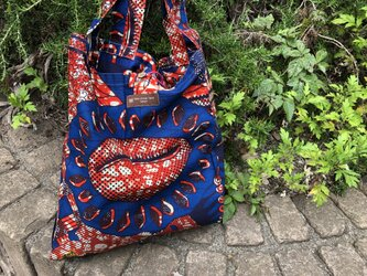 b387-アフリカ布ecoバッグの画像