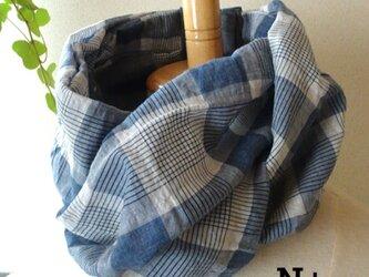 20-08 保冷剤入れ付スカーフ風日除けネックウォーマーの画像