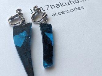 そして、あざとく…/earring/blueの画像