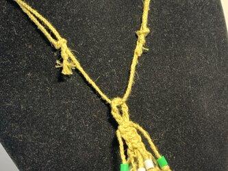 チューライトのヘンプ編みペンダント♪の画像