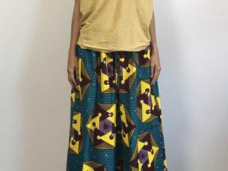 アフリカンバティック ハカマパンツの画像