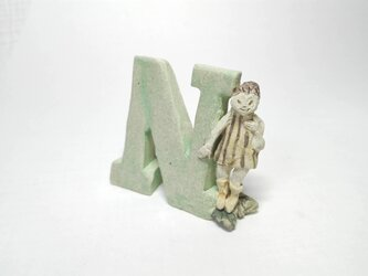 N(天使)【ちびアルファベット】 の画像