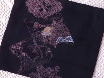 古布の袋・黒檀 Ⅱの画像