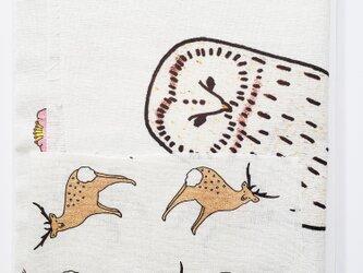 手描きのはぎれセット【大きなエゾフクロウ再販】の画像