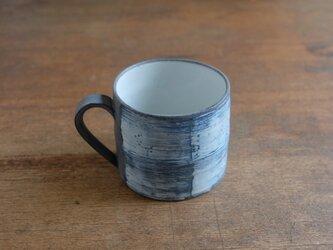 インディゴ マグカップ 大/ハケの画像