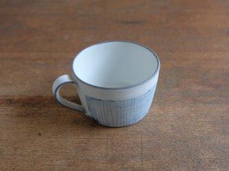インディゴ マグカップ 小/線Bの画像