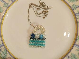 スワロフスキーのネックレスの画像