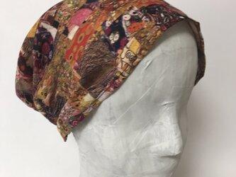 ターバン風帽子 の画像