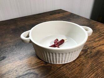 NO.47耐熱皿(白)の画像