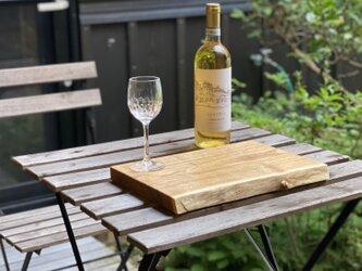 ワンプレート晩酌皿(一枚板、エンジュL、大皿)の画像