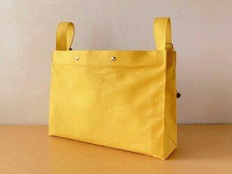バンザイショルダーバッグ(L)[黄]の画像