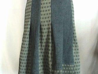 着物リメイクスカート  1391の画像