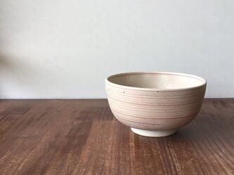 小丼碗 赤縞の画像