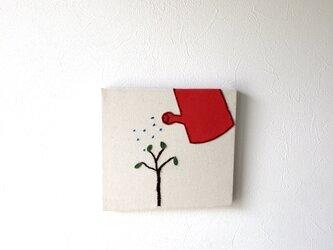 ファブリックパネル  小さな木の画像