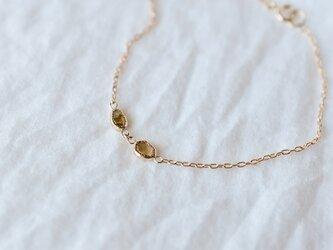 Fragment Diamond Bracelet Mochaの画像
