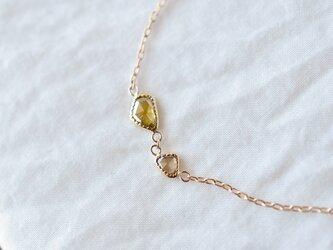 Fragment Diamond Bracelet Oliveの画像