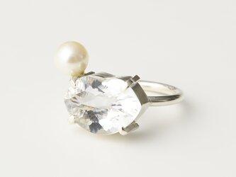 CR85(水晶/あこや真珠)の画像