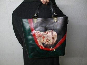 トートバッグ 浮世絵『小幡小平二』の画像