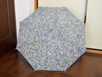 着物から作った日傘の画像
