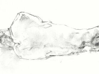 croquis (横たわる裸婦)原画の画像