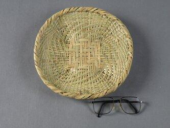 蕎麦ざる(大) 盛り皿 根曲り竹の画像