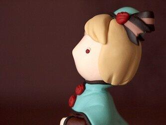 ミントチョコレートの少女の画像