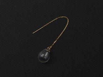 アロマピアス しずく クリア チェーンタイプ K18YG [18金イエローゴールド]の画像